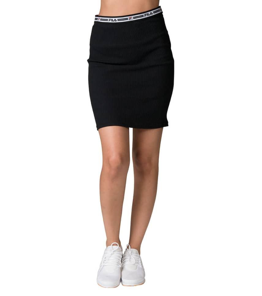 d26e0279d FILA Cathy Rib Skirt (Black) - LW173YV5 | Jimmy Jazz