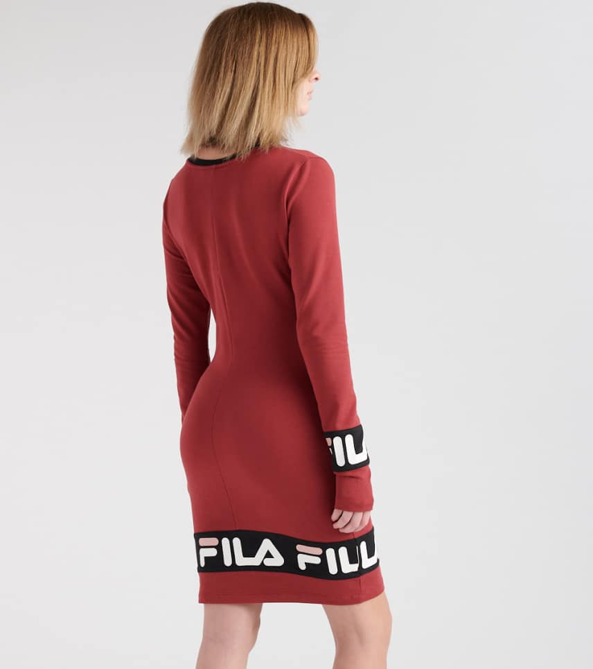 f3c566cdd3cc4 FILA Luna Dress (Burgundy) - LW1834AU-637 | Jimmy Jazz