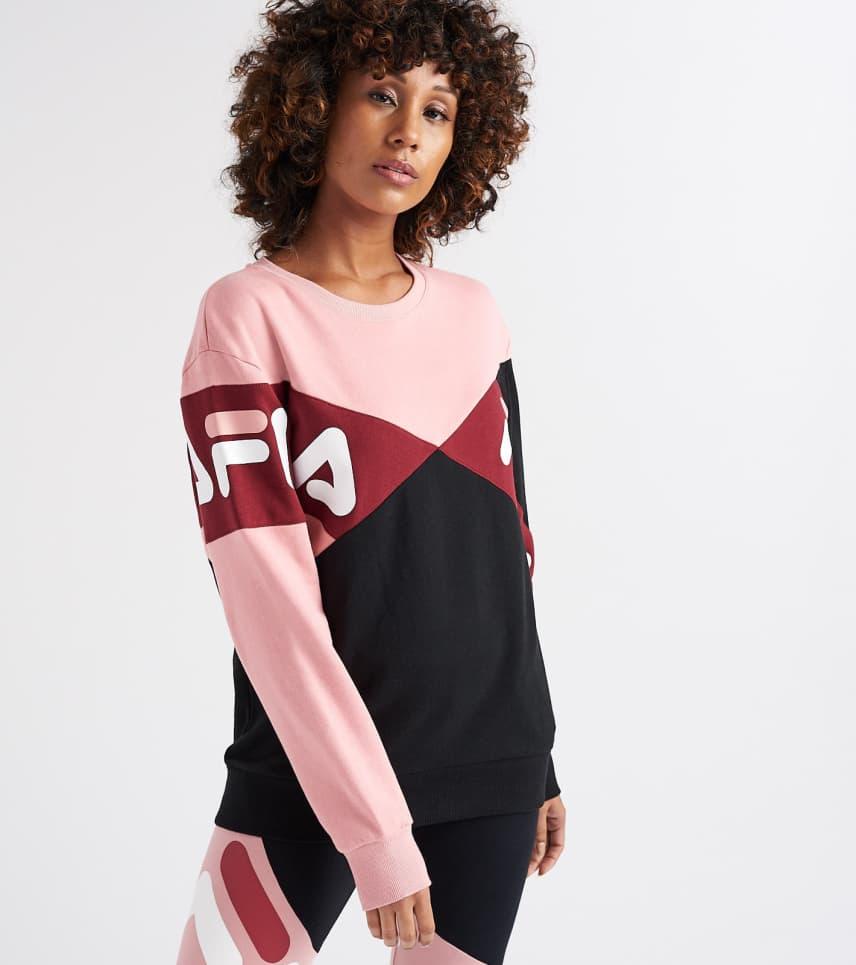 34f9015796c4 FILA Lidia Sweatshirt (Black) - LW183Y54-002   Jimmy Jazz