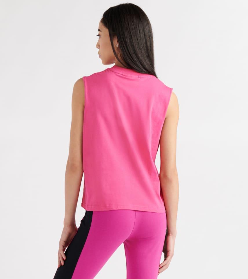 2c0e420a16d FILA Helena Sleeveless Tee (Pink) - LW911113-680
