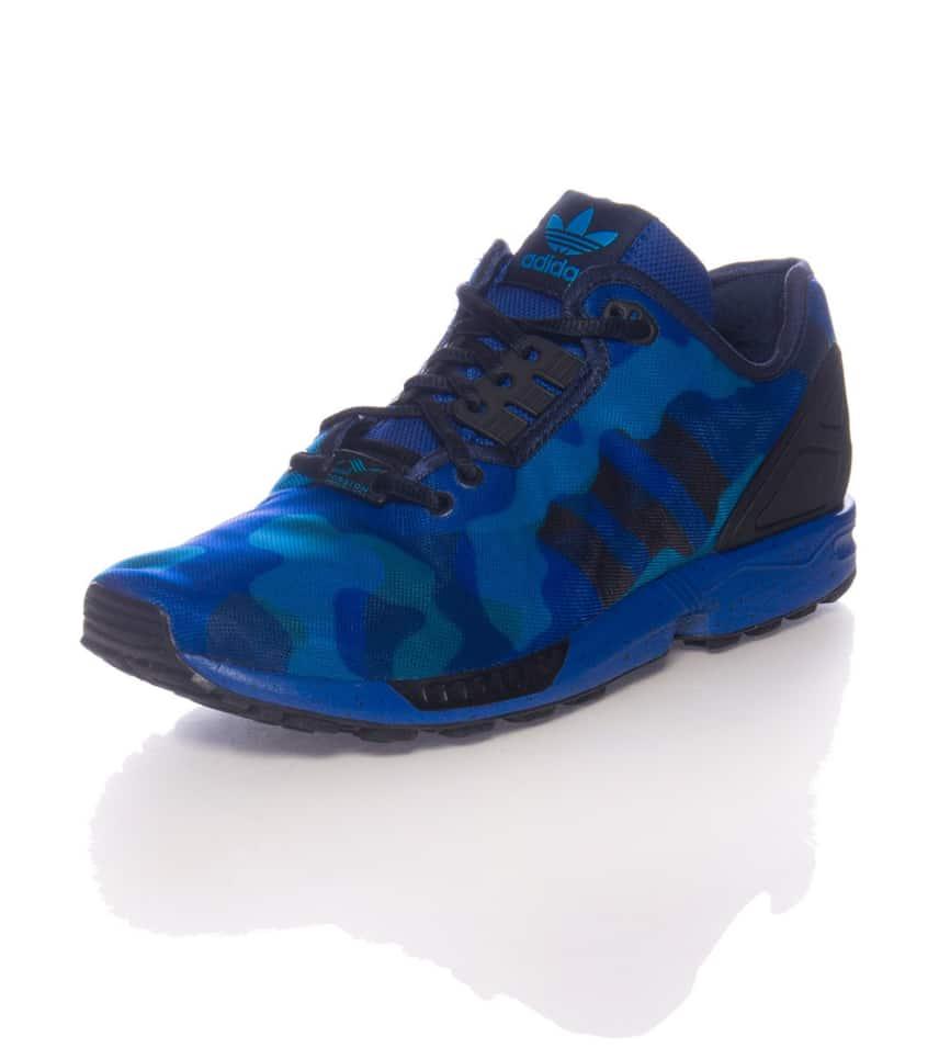 b6268c8bd adidas ZX FLUX CAMO SNEAKER (Blue) - M19684