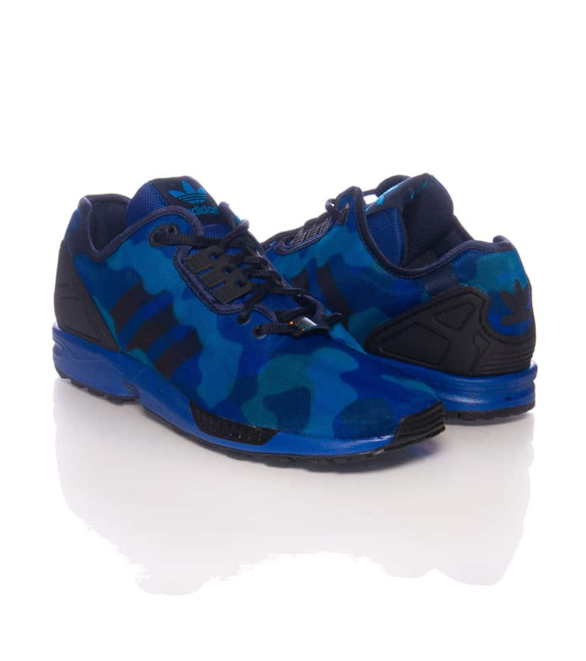 adidas ZX Flux Camo Sneaker (Blue) - M19684  5e9b12f76