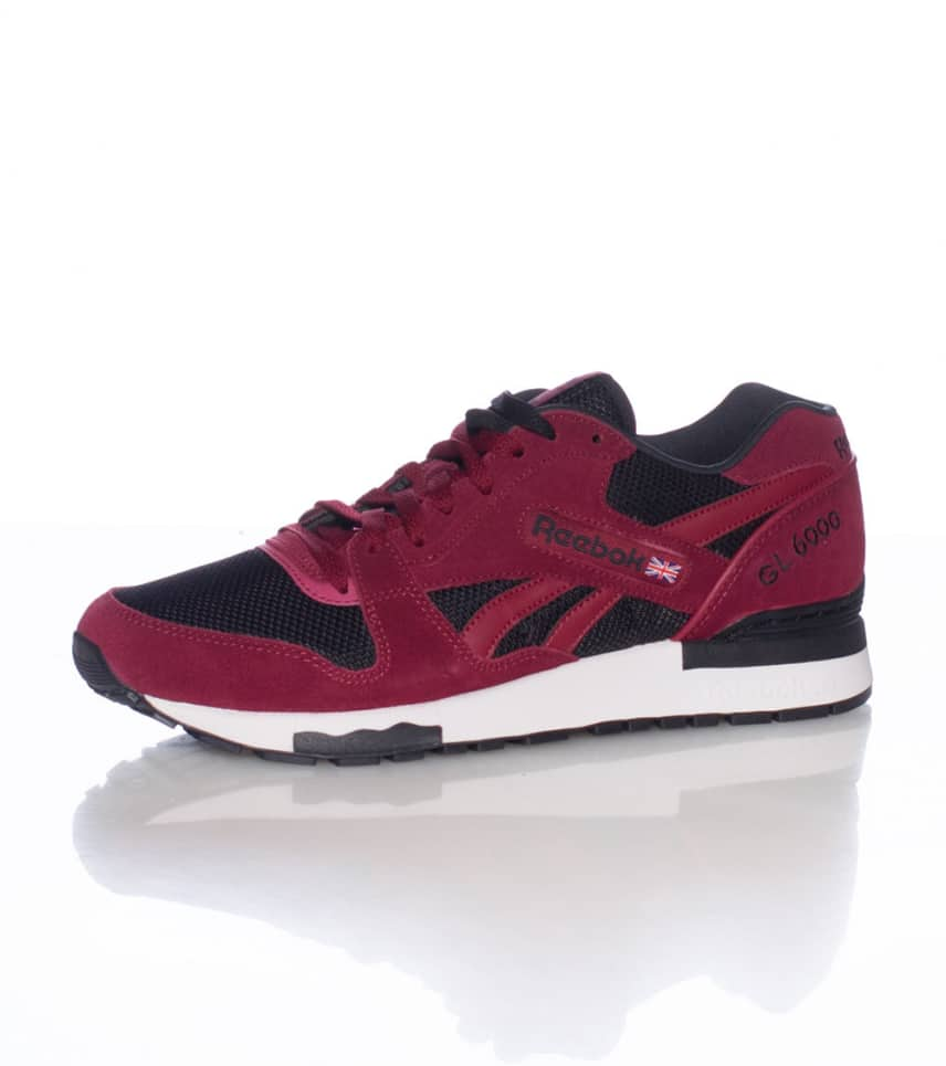 reebok gl6000 athletic sneaker burgundy m40761 jimmy jazz rh jimmyjazz com  reebok gl 6000 athletic burgundy