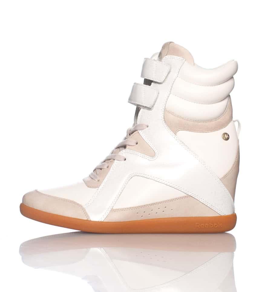 Reebok ALICIA KEYS WEDGE SNEAKER (White) - M41579  9eb41b49d