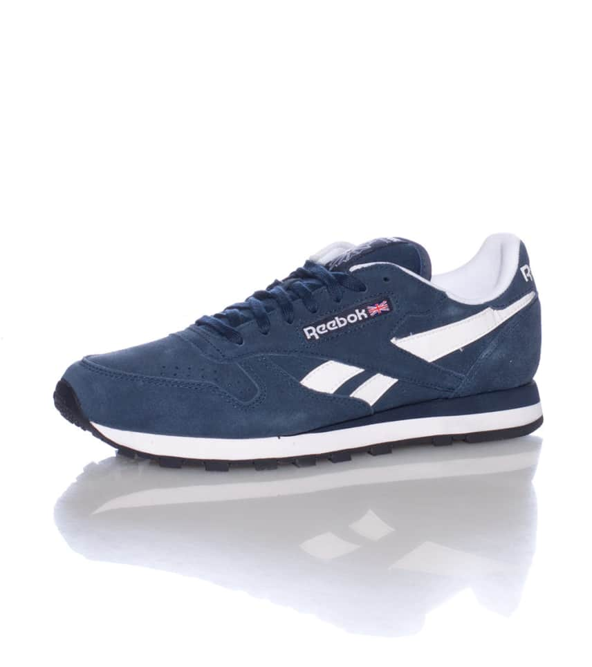 568bc62cbb076 Reebok CLASSIC LEATHER SUEDE SNEAKER (Navy) - M43014