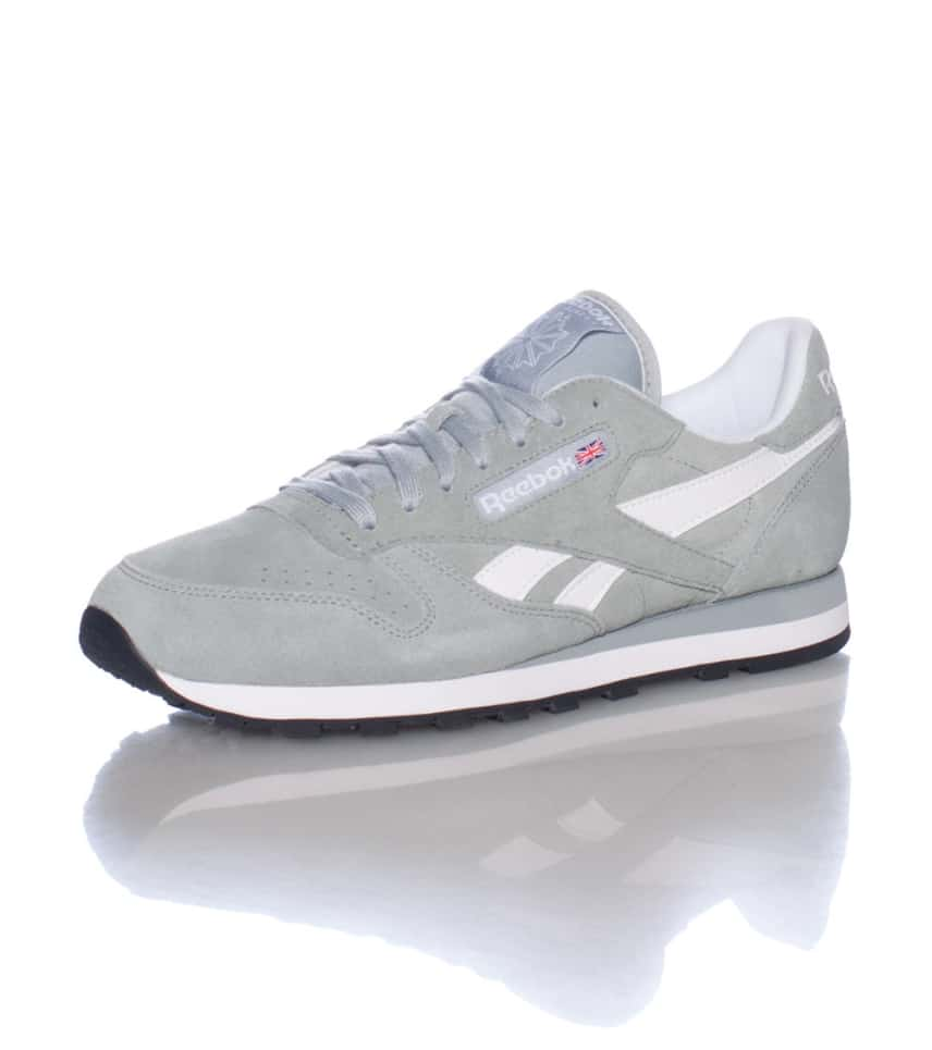 a42e8e6d4bc06 Jazz Sneaker Jimmy Leather Classic Reebok Suede grey M43017 wZvtqA