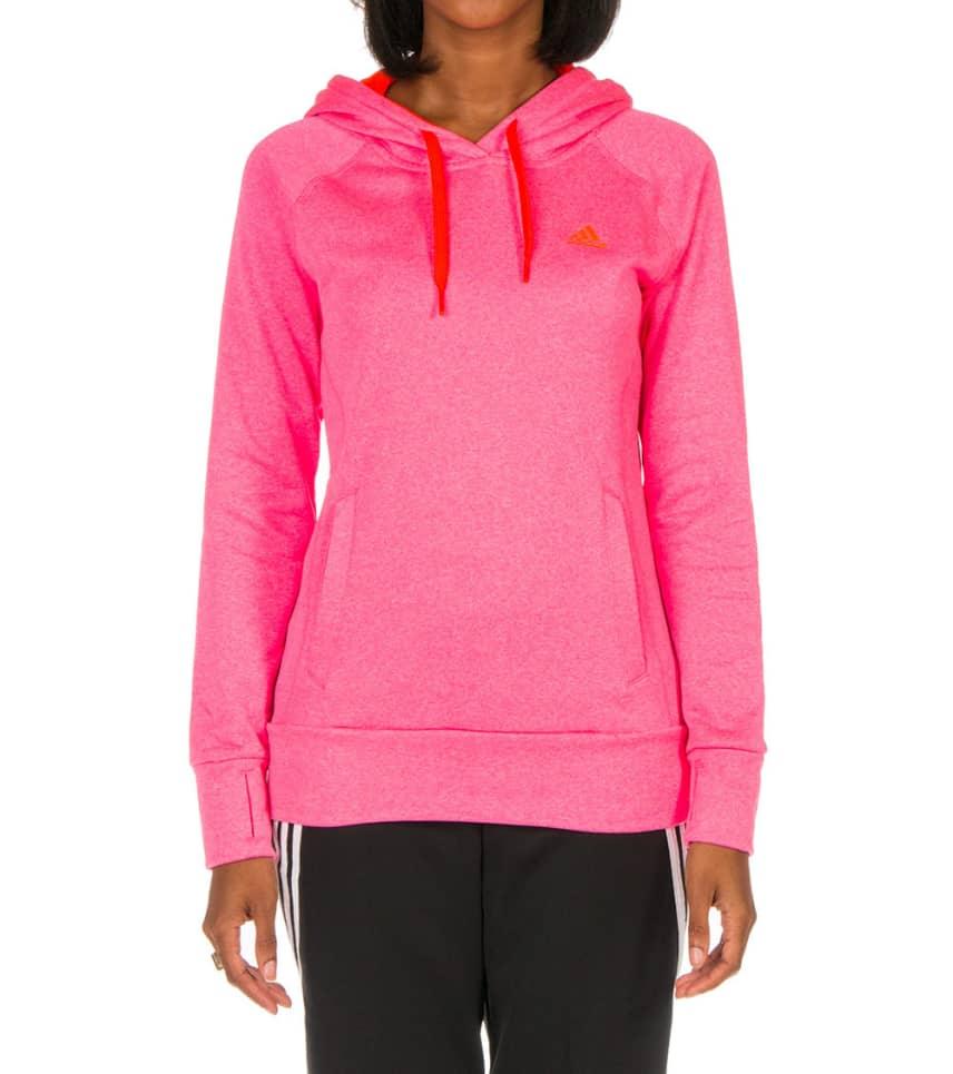 79486da13b2e adidas ULTIMATE FLEECE HOODIE (Pink) - M60934