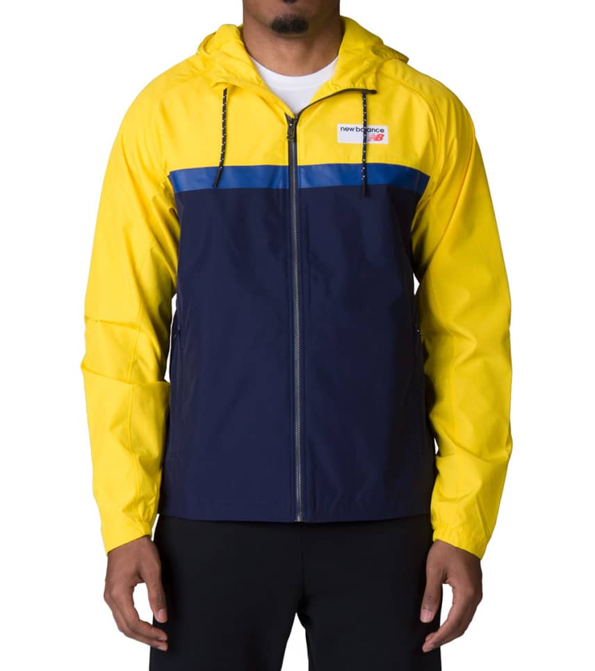 6fc39593f New Balance NB Athletics 78 Jacket (Yellow) - MJ73557 | Jimmy Jazz