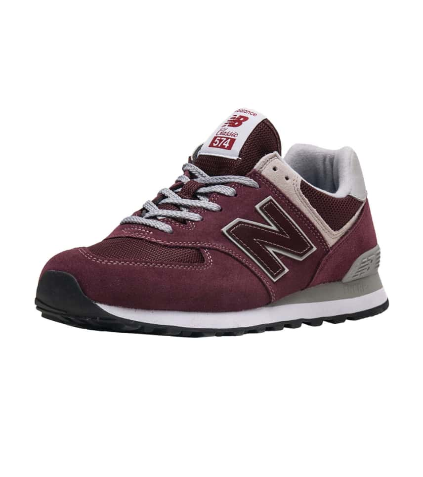 cf415f6f202c3 New Balance 574 Lifestyle Shoe (Burgundy) - ML574EGB | Jimmy Jazz