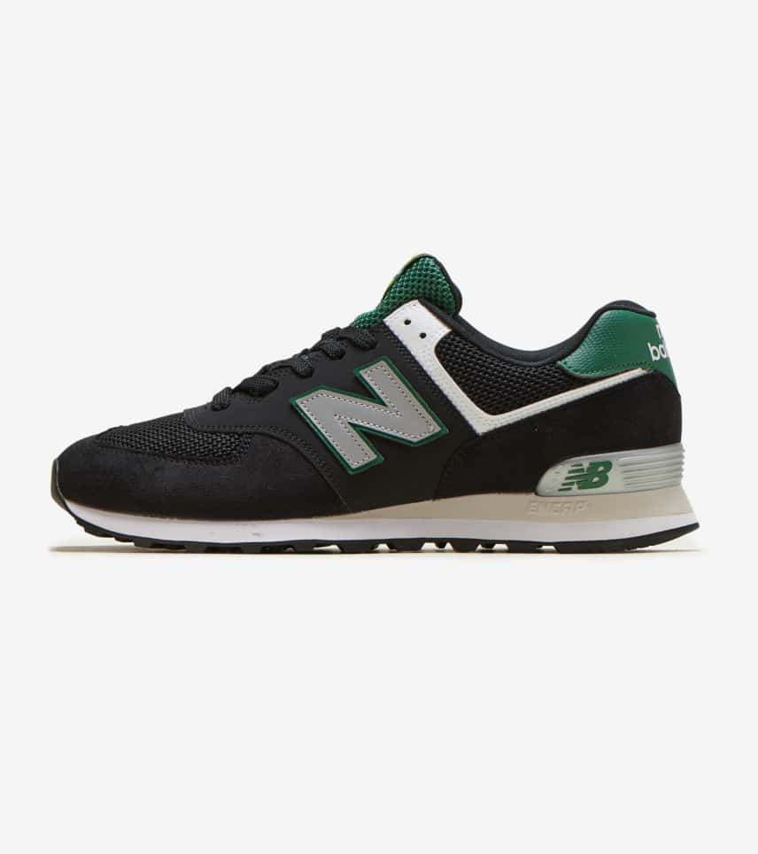 New Balance 574 Lifestyle Shoe (Black) - ML574SRA  fac531e379f