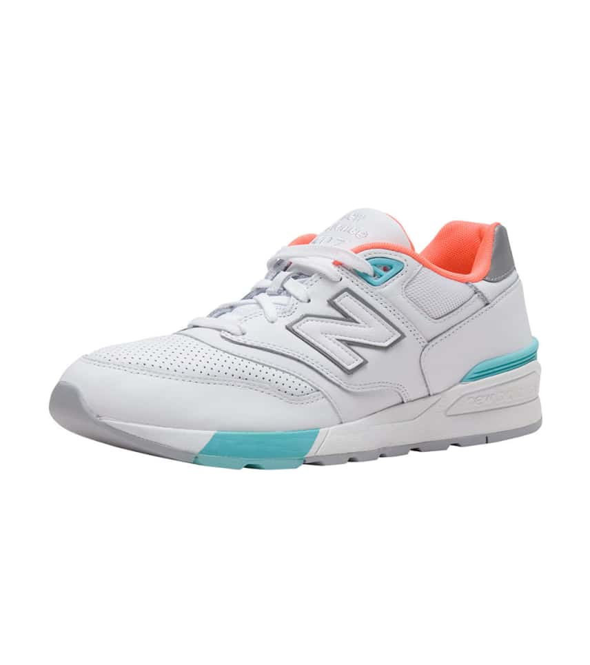 official photos 50b1d 328c2 cheap all white new balance 597