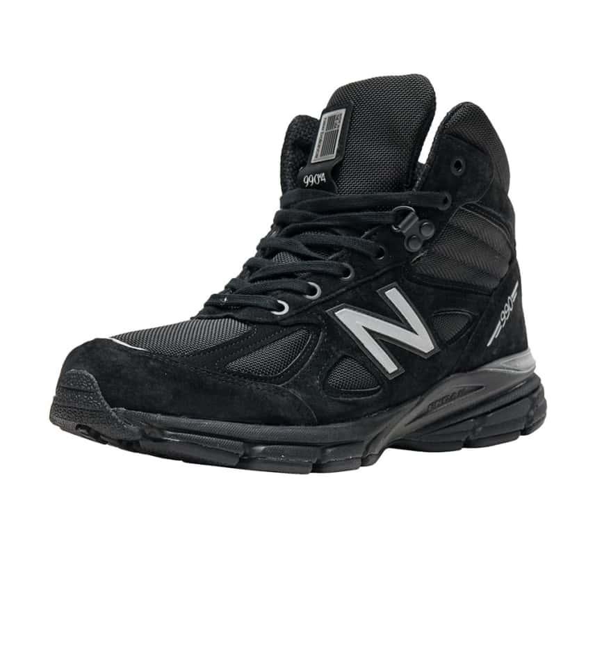 4ebeca6164515 New Balance 990v4 Mid Boot (Black) - MO990BK4 | Jimmy Jazz