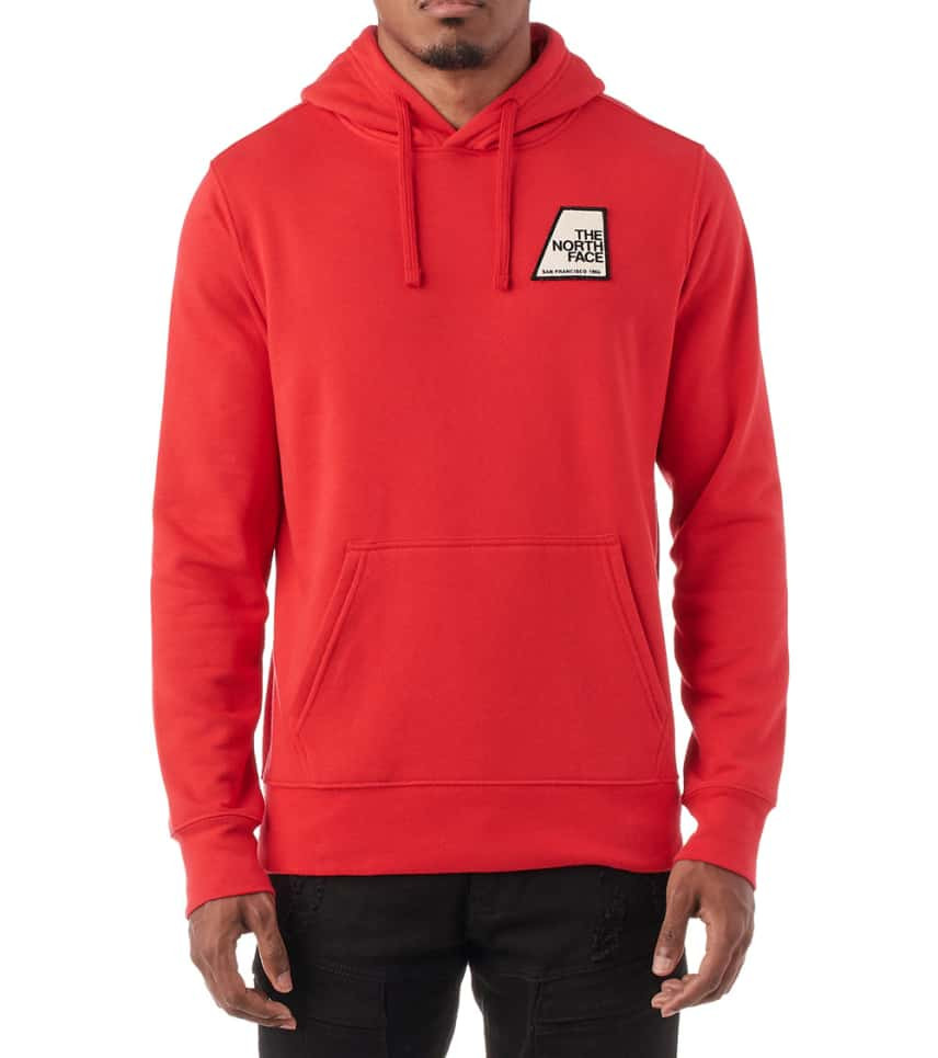 c563a339b The North Face Pullover Graphic Patch Hoodie (Red) - NF0A3MBH-682 ...