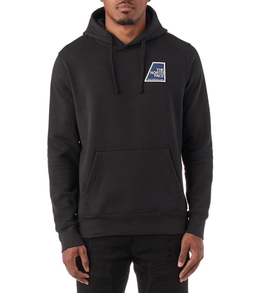 583a18114 Pullover Graphic Patch Hoodie