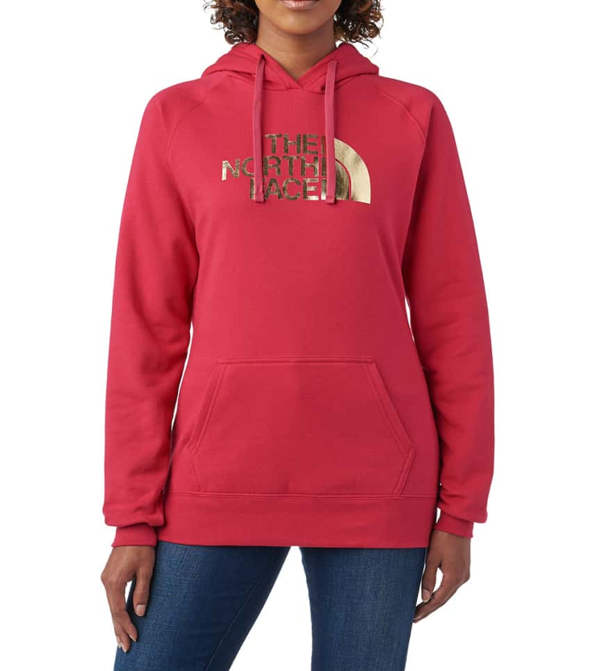 3bb27e55e The North Face W HALF DOME PULLOVER HOODIE (Pink) - NF0A3NVW-7XL ...