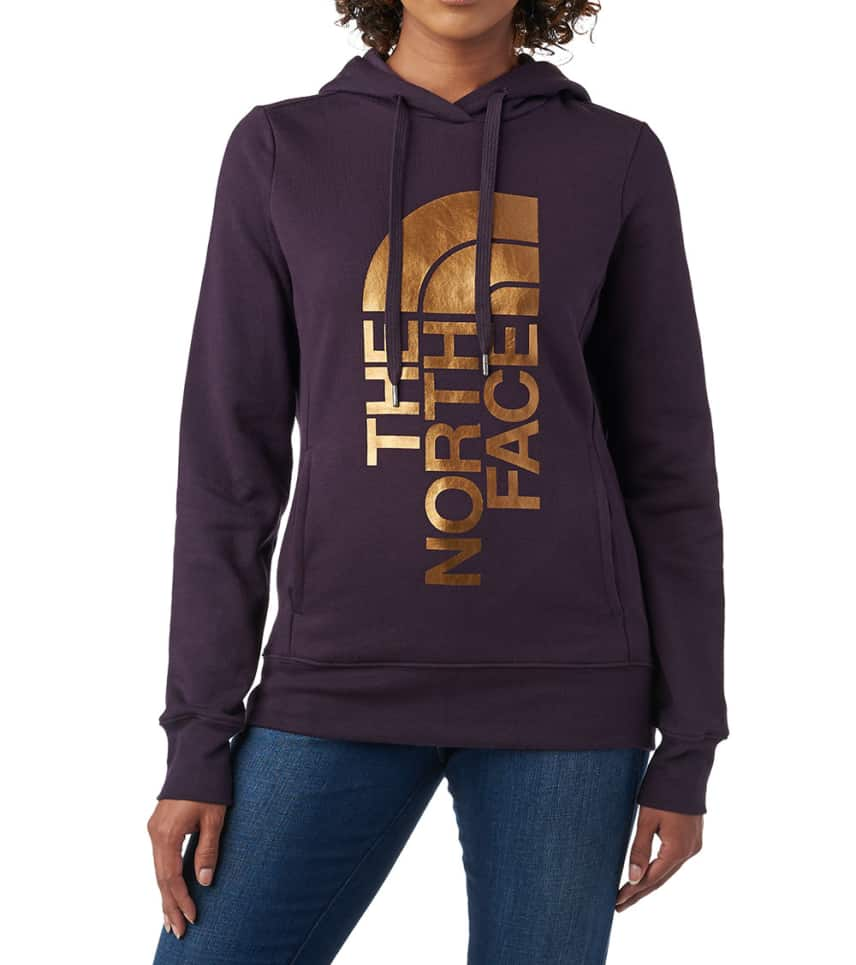 02cf520c0 The North Face W TRIVERT PULLOVER HOODIE (Dark Purple) - NF0A3NVX ...