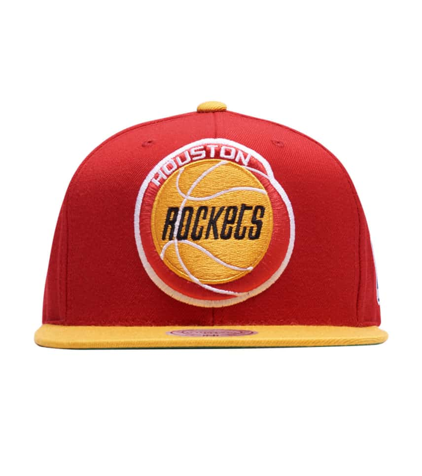 913d62c03 ... Mitchell and Ness - Caps Snapback - Houston Rockets 2 Tone XL Snapback  ...