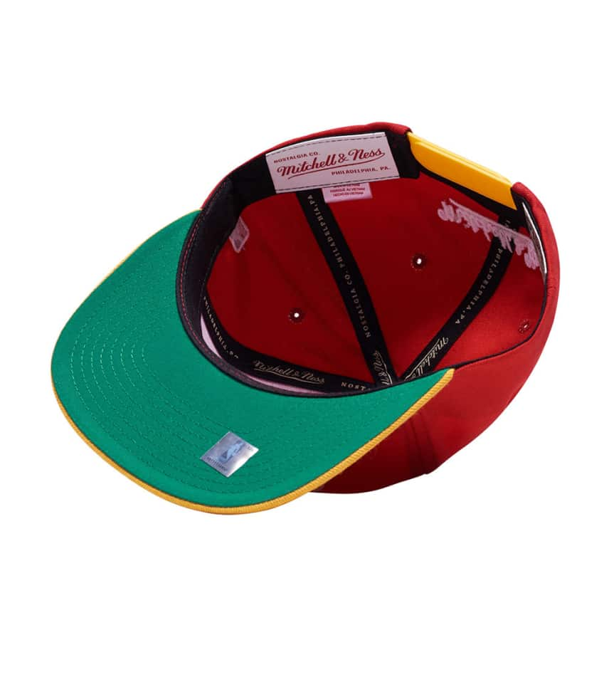 ab1888452 ... Mitchell and Ness - Caps Snapback - Houston Rockets 2 Tone XL Snapback