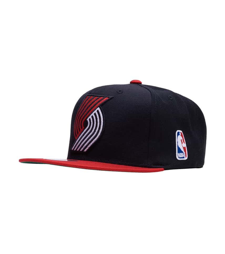 info for b7f94 c02ef ... Mitchell and Ness - Caps Snapback - Portland Trailblazers 2 Tone XL  Snapback ...