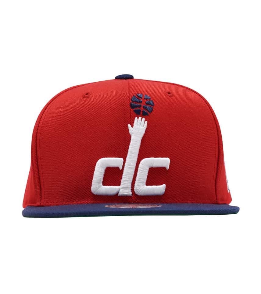 dcb8853c0b ... Mitchell and Ness - Caps Snapback - Wizards XL Logo Snapback ...