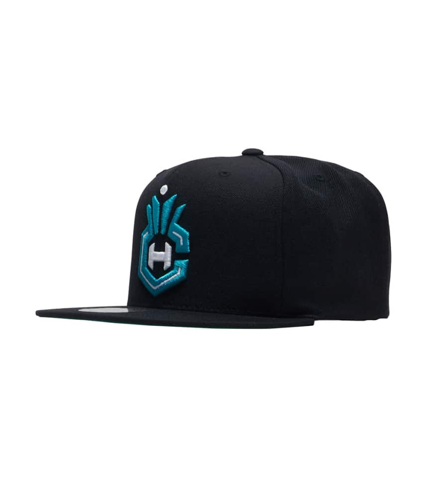 Mitchell and Ness Hornets Snapback Hat (Black) - NT78ZTPC5CHO ... 6c21a9a0b31