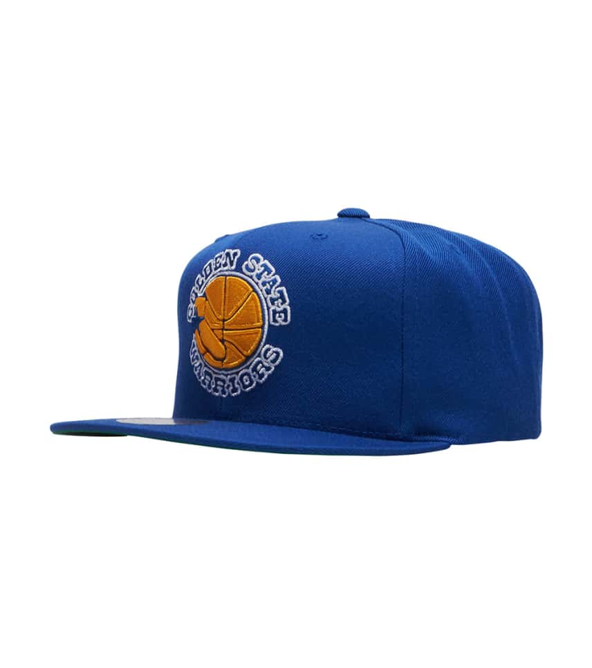 Mitchell and Ness Warriors Snapback Hat (Blue) - NZ979TPC5WAR ... f569ecd33f6e