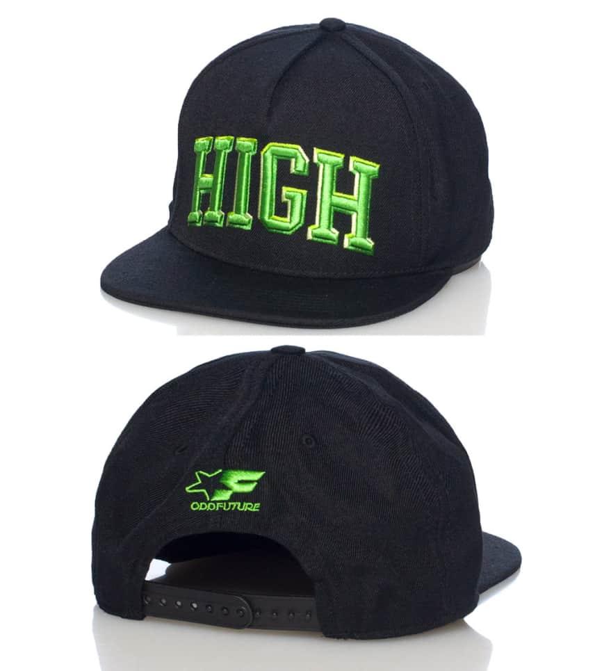 ODD FUTURE DOMO HIGH UNIVERSITY SNAPBACK CAP (Black) - OFDOC14102 ... dbef3d36e80