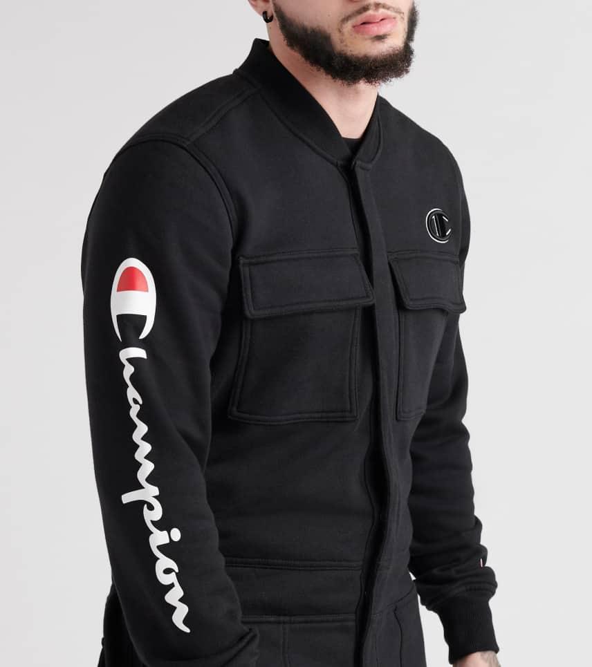 15e578b864db Champion Super Fleece 3.0 Coverall Jumpsuit (Black) - P2999354-003 ...