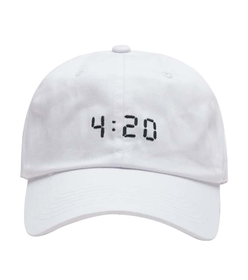 06fce40d Any Memes 420 DAD HAT (White) - P40930 | Jimmy Jazz