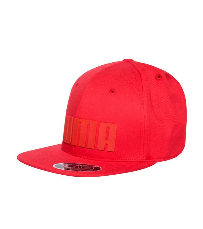 4a0459f94eb Puma CAPITAL SNAPBACK CAP (Red) - PMAM2201