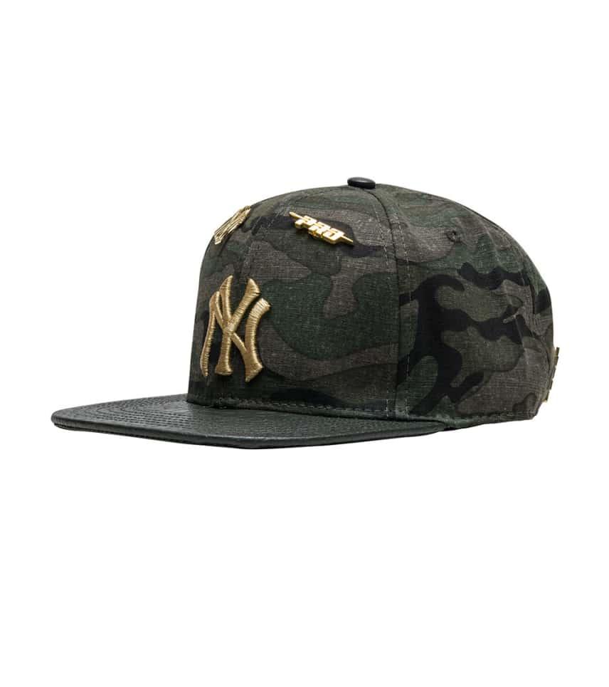 6038907b2a47b Pro Standard NY Yankees Camo Leather Strapback.  29.99orig  60.00. COLOR  Dark  Green