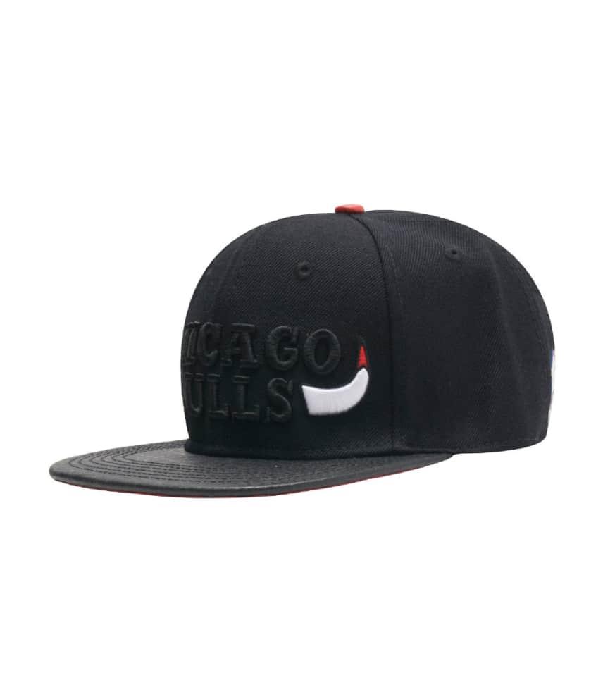 09b7a15399d Pro Standard Chicago Bulls Horns Leather Strapback.  24.96orig  54.00.  COLOR  Black
