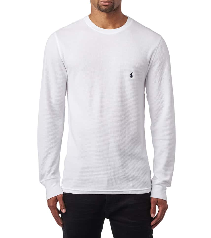 c939c821 Polo Long Sleeve Crew Thermal (White) - PWLCFR-WHD | Jimmy Jazz