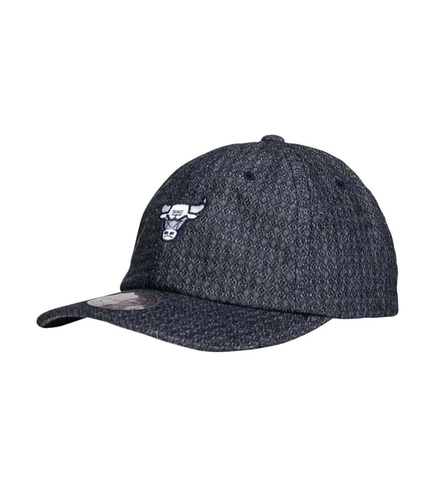 f63644bab8a ... Mitchell and Ness - Hats - Chicago Bulls Reverse Denim Dad Hat ...