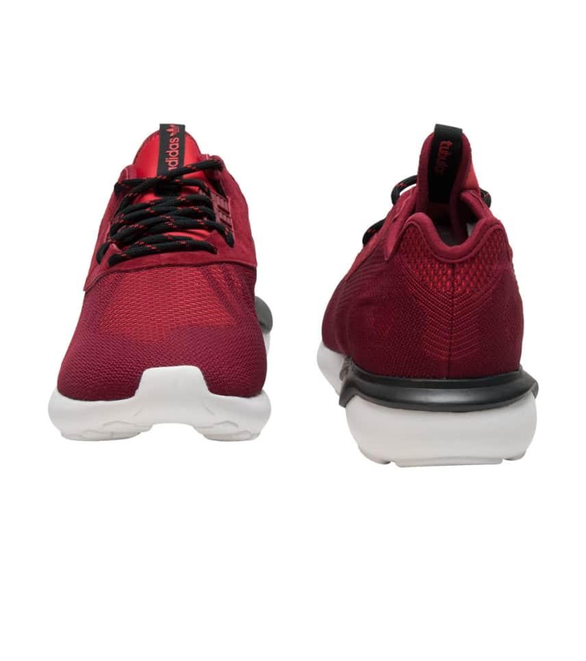 ff7867b37b3 adidas Tubular Runner Weave Sneaker (Burgundy) - S74812   Jimmy Jazz