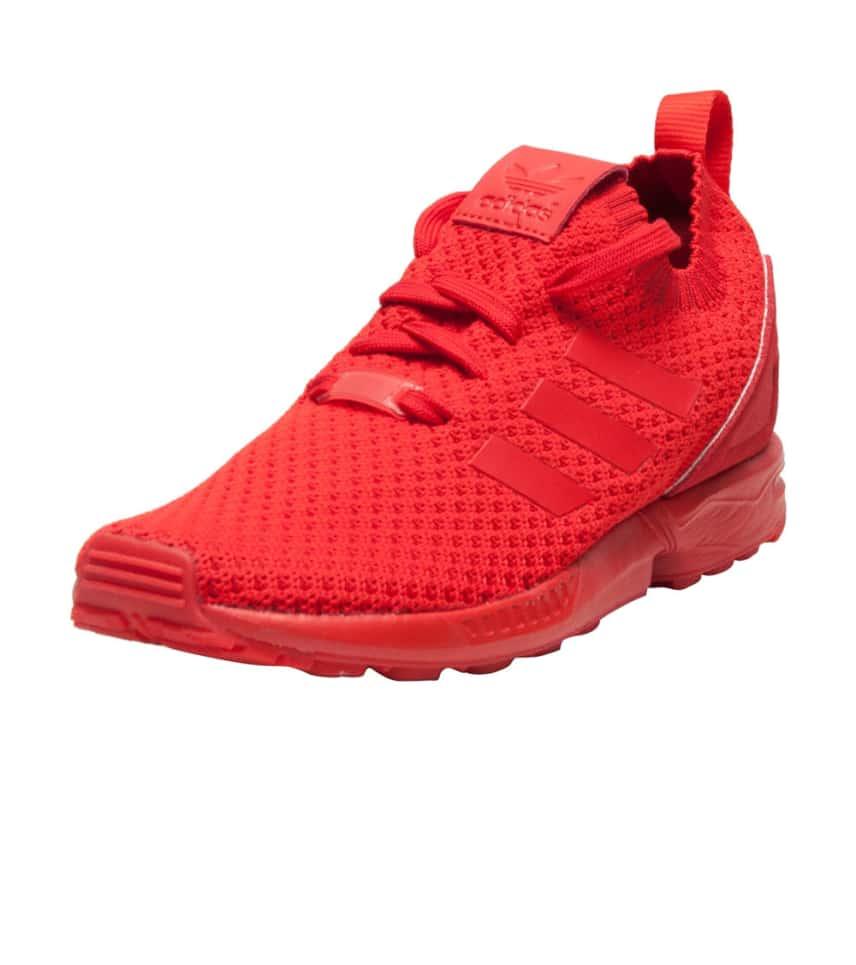 adidas ZX Flux Primeknit (Red) - S81974  845ee2d91a81