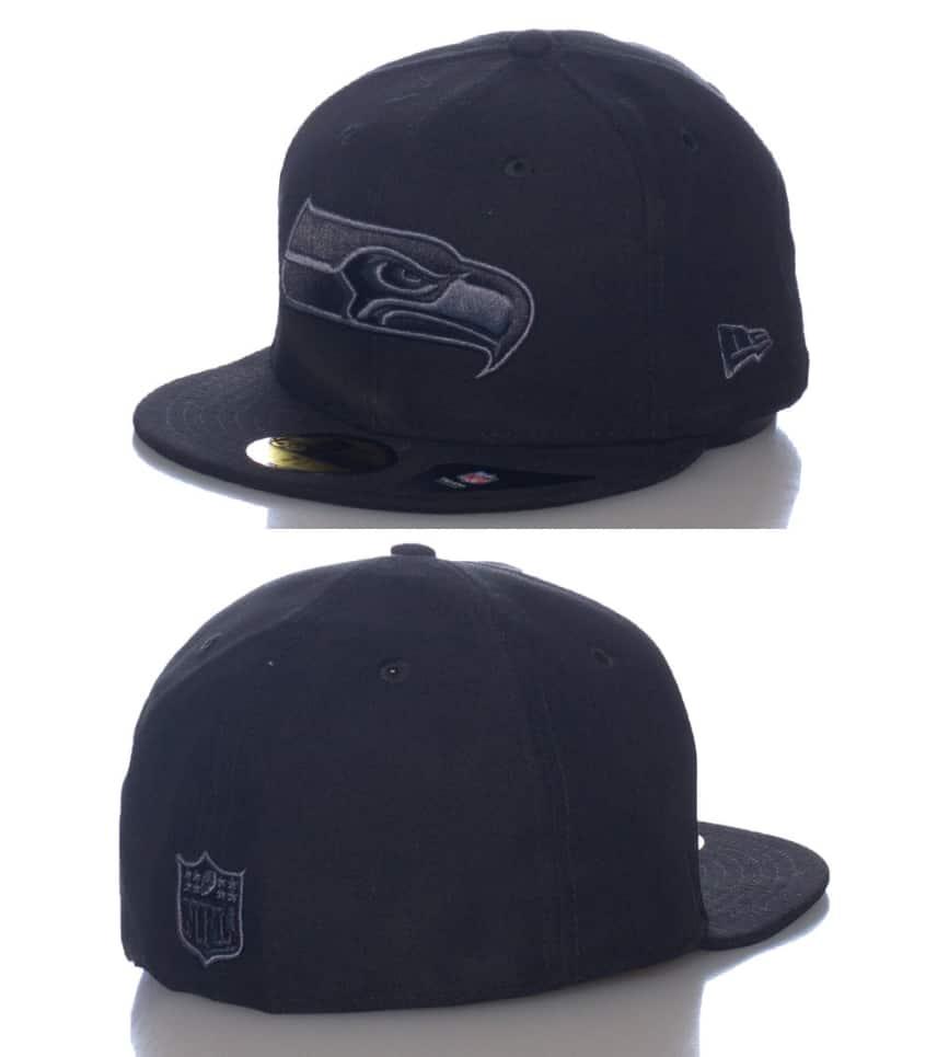 9d4f4f1ed NEW ERA SEATTLE SEAHAWKS NFL FITTED CAP. $24.99orig $29.99. COLOR: Black