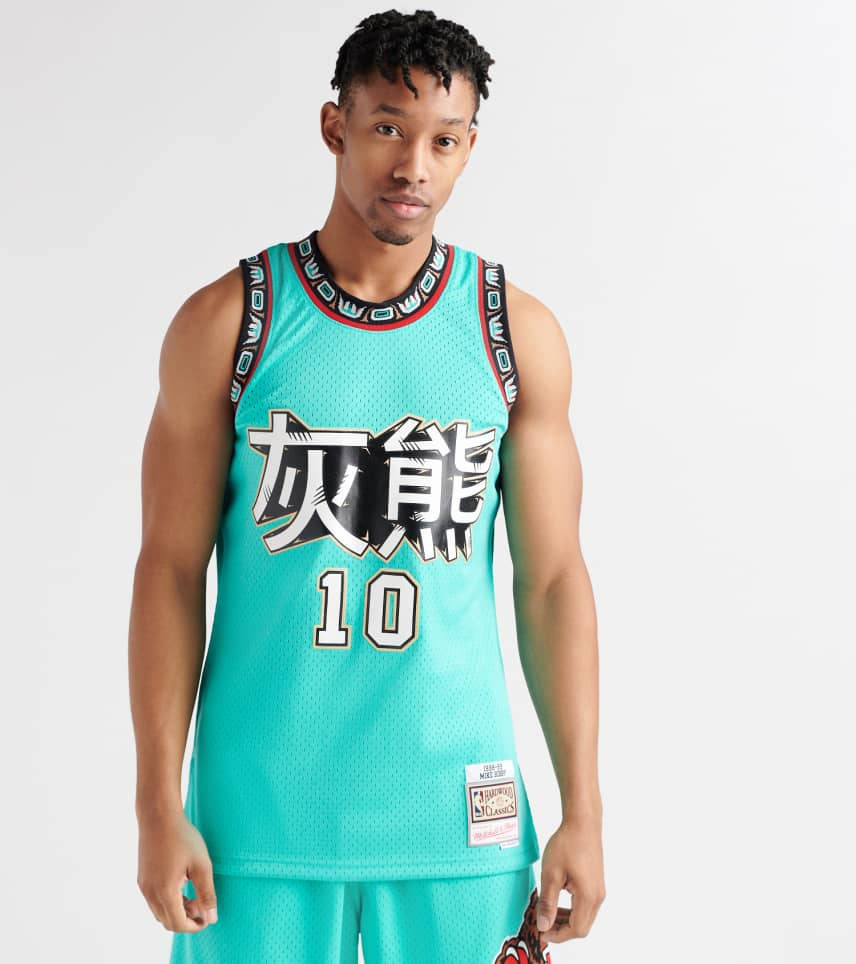 7a16df24 Mitchell and Ness Vancouver Grizzlies Mike Bibby Jersey (Medium ...