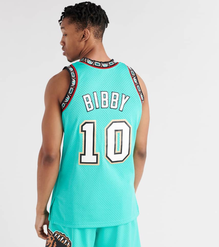 60019e93061 ... Mitchell and Ness - Tank Tops - Vancouver Grizzlies Mike Bibby Jersey  ...