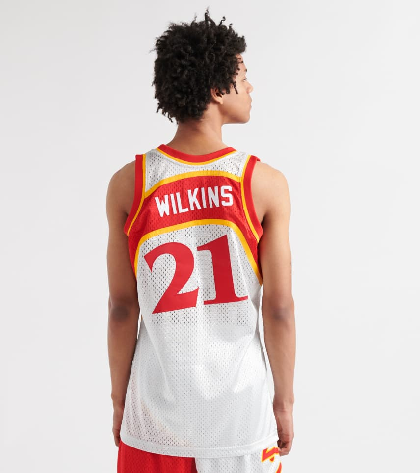 89dcf7e50 ... Mitchell and Ness - Tank Tops - Dominique Wilkins Atlanta Hawks Jersey  ...