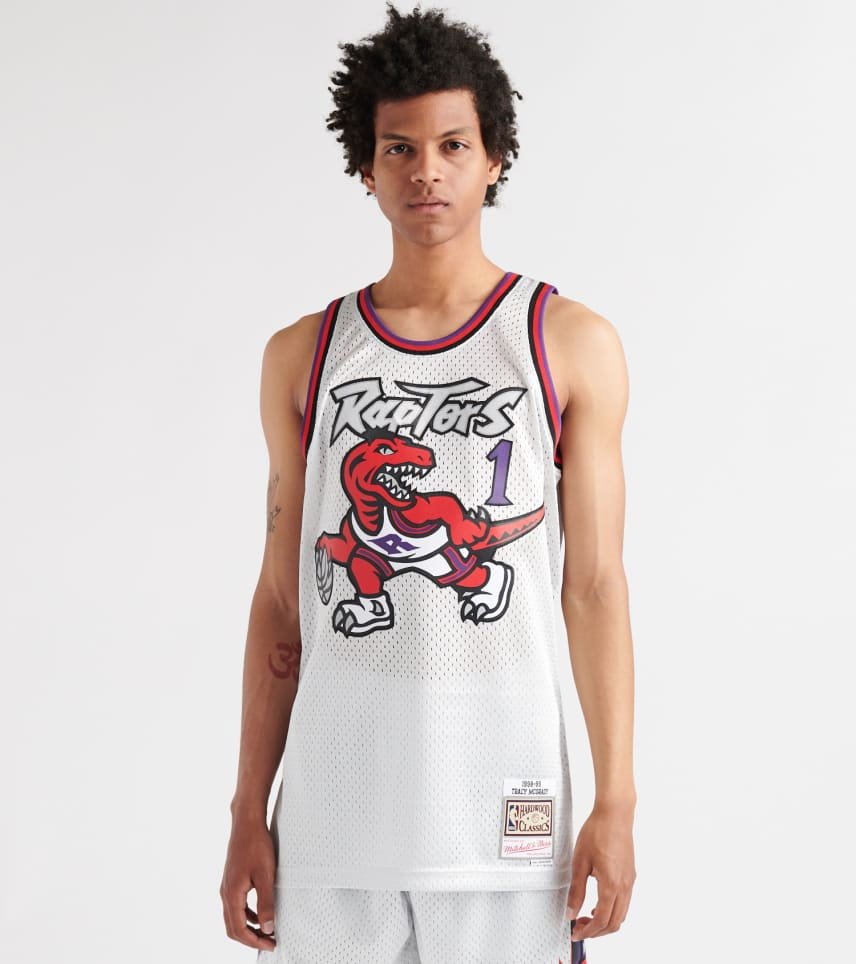 cheap for discount 0d8be e5bc6 Tracy McGrady Toronto Raptors Jersey