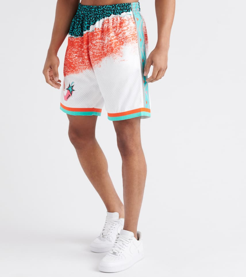 67be169557a98 Mitchell and Ness NBA All-Star Game Swingman Shorts (Multi-color ...