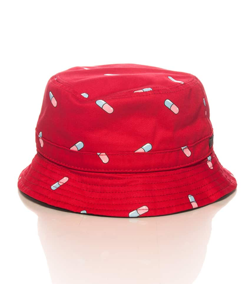 eb5e42b92fa Official Crown Of Laurel Pill Bucket Hat Red Sp158001 Jimmy Jazz