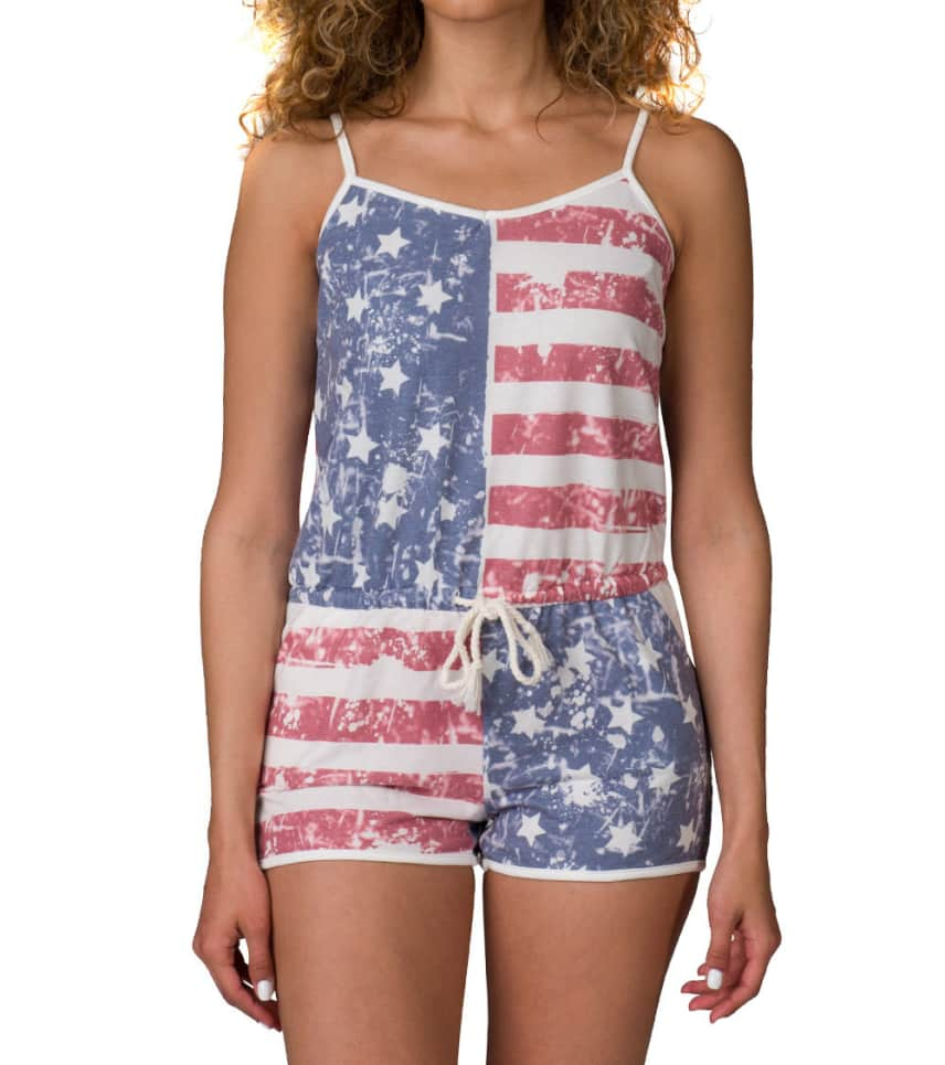 eac2aed08a28 Essentials STARS AND STRIPES KNIT ROMPER (Multi-color) - SP9189-MUL ...