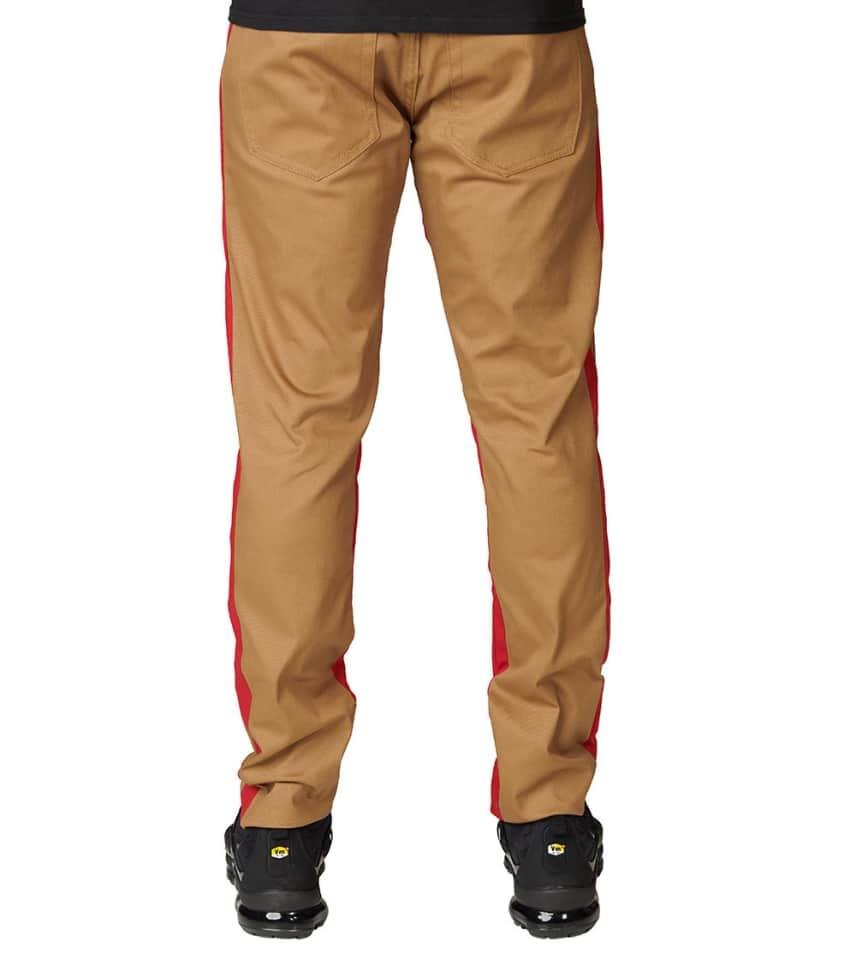 American Stitch Double Stripe Twill Pants (Beige-khaki) - SS184043 ... e113a59d8324