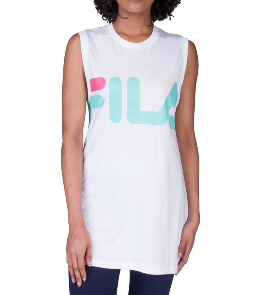 5a9bd8c5d6211 FILA Sesto Sleeveless Tee (White) - SSVIW002-101 | Jimmy Jazz