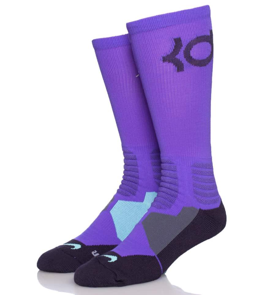 Nike KD Hyperelite Basketball Crew Socks (Purple) - SX4814553 ... 3238a2b010f9
