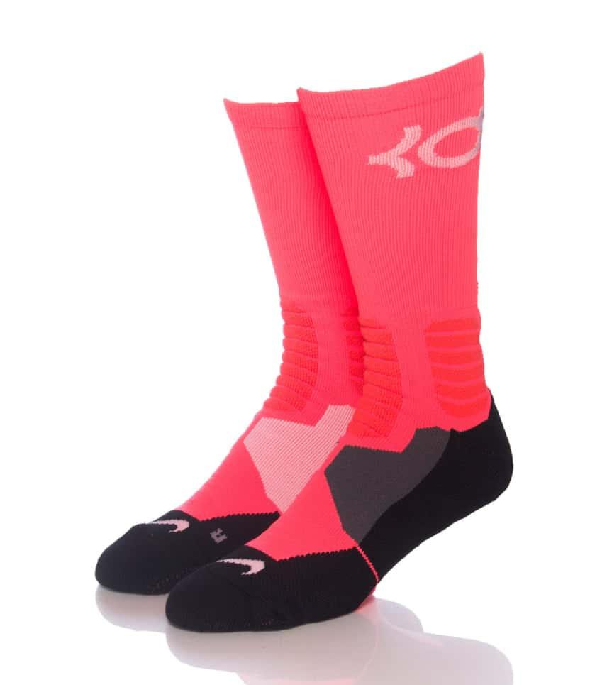 cf8e9594a58d Nike KD HYPERELITE BBALL CREW SOCKS (Pink) - SX4814810