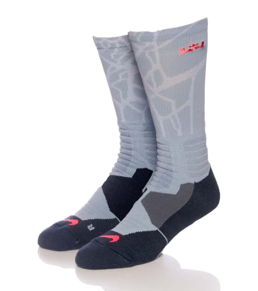 3116ad8bc9be Nike LEBRON HYPERELITE BASKETBALL SOCK (Grey) - SX4885058