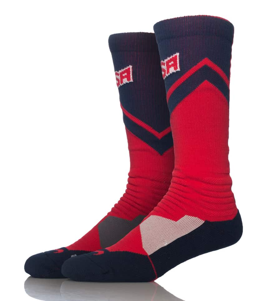 779a1814f599 Nike HYPERELITE USA WORLD TOUR SOCKS (Red) - SX4954